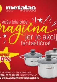 DIS -  VAŠA JELA BIĆE MAGIČNA JER JE AKCIJA FANTASTIČNA! - SKUPLJAJTE MARKICE U DIS MARKETIMA - Akcija do 31.01.2021.
