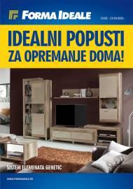 FORMA IDEALE KATALOG - IDEALNI POPUSTI ZA OPREMANJE DOMA! - Akcija do 13.03.2021.