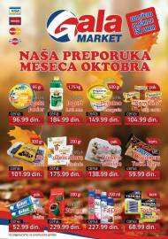 GALA MARKET Katalog - Super akcija do 31.10.2019.