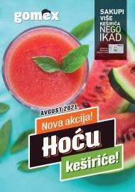 GOMEX Akcija - HOĆU KEŠIRiĆE - Akcija do 31.08.2021.