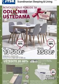 Jysk ponuda - JYSK Katalog - Super akcija od 21.11. DO 04.12.2019.