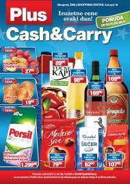 PLUS CASH CARRY AKCIJA - IZUZETNE CENE SVAKI DAN - Akcija do 26.11.2020.