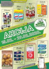 SINAGOGA - AKCIJA PREHRANE - Akcija do 29.02.2020.