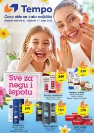 TEMPO Akcija - SVE ZA NEGU I LJEPOTU - Super akcija do 17.06.2020.