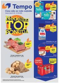 TEMPO AKCIJA SNIŽENJA - NEDELJNA TOP PONUDA - Super akcija do 27.05.2020.