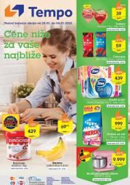 TEMPO Akcija - CENE NIŽE ZA VAŠE NAJBLIŽE  - Super akcija do 04.03.2020.