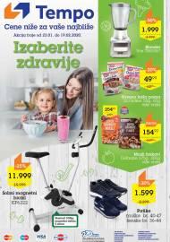 TEMPO Akcija - IZABERITE ZDRAVIJE  - Super akcija do 19.02.2020.