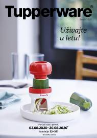 TUPPERWARE Katalog -  Akcija sniženja do 30.08.2020.