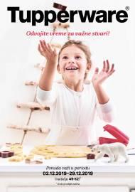 TUPPERWARE Katalog -  Akcija sniženja do 29.12.2019.