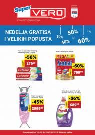 SUPER VERO NEDELJA GRATISA I VELIKIH POPUSTA - Super akcija do 28.05.2020.