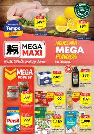 MEGA MAXI - NEDELJNA MEGA PONUDA. Super akcija sniženja do 09.12.2020.