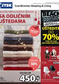 Jysk ponuda - JYSK Katalog - ODLIČNE NOVOGODIŠNJE PONUDE UŠTEDITE, SA ODLIČNIM UŠTEDAMA - Akcija sniženja do 09.12.2020
