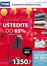 Jysk ponuda - JYSK Katalog - SLAVIMO LUDO NISKE CENE - Akcija sniženja do 30.09.2020
