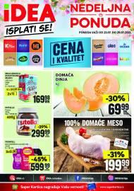 IDEA Katalog - ISPLATI SE - NEDELJNA PONUDA! Akcija sniženja do 29.07.2021.