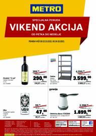METRO - VIKEND AKCIJA  - Akcija do 24.10.2021.
