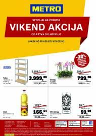 METRO - VIKEND AKCIJA - Akcija do 26.09.2021.