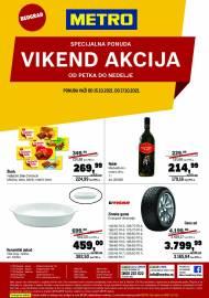 METRO - VIKEND AKCIJA  - Akcija do 17.10.2021.