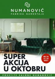 NUMANOVIĆ Katalog - SUPER AKCIJA U OKTOBRU! Akcija sniženja do 31.10.2021.