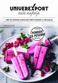 UNIVEREXPORT PREMIUM KATALOG - Akcija sniženja do 31.08.2021.