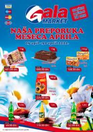 GALA MARKET Katalog - Super akcija do 30.04.2020.