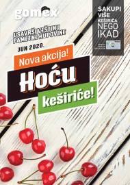 GOMEX Akcija - HOĆU KEŠIRiĆE - Akcija do 30.06.2020.