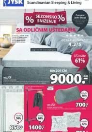 Jysk ponuda - JYSK Katalog - SEZONSKO SNIŽENJE! AKCIJA SNIŽENJA DO 28.07.2021.