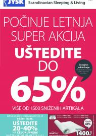 Jysk ponuda - JYSK Katalog - ODLIČNE PONUDE - UŠTEDITE DO 65%! AKCIJA SNIŽENJA DO 16.06.2021.
